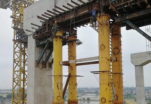 桥梁现浇面支架施工