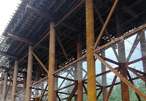 桥梁现浇面支架
